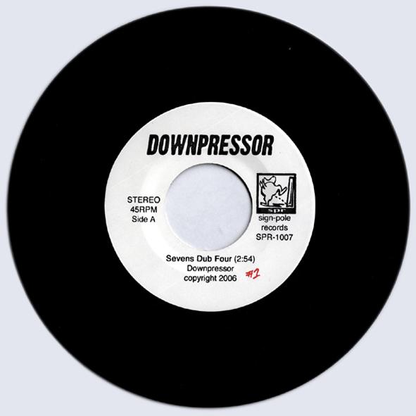 """DOWNPRESSOR/7""""シングル"""